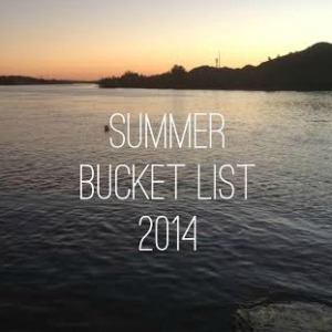 Summer Bucket List 2014 square