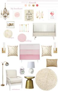 girl nursery inspiration