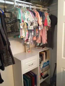 (23 weeks} closet progress