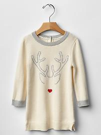 the gap reindeer sweater