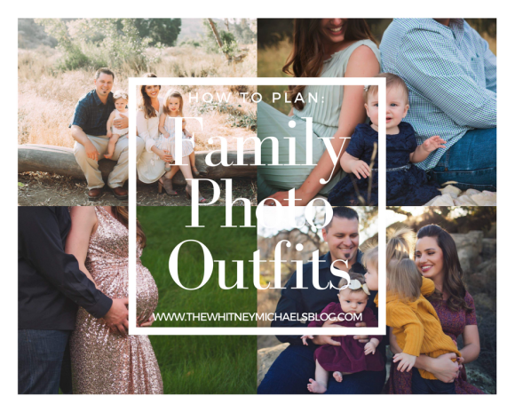 How to Plan: Family Photo Outfits